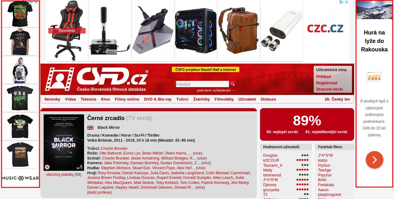 příklady reklamy na webové stránce mexické seznamovací normy