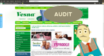 Pan Mergado a audit e-shopu Ivesna