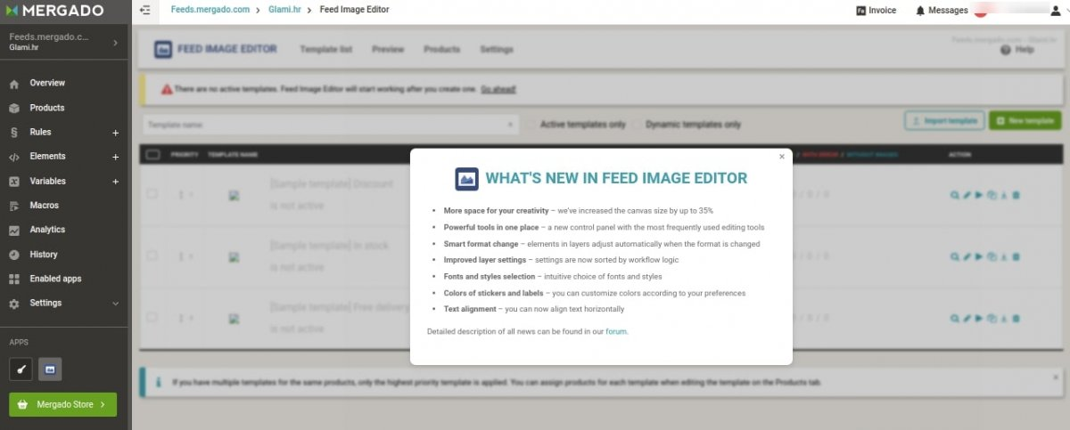 feed image editor app example