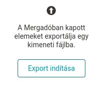 Tlačítko Export vstupních dat na stránce Přegenerování.